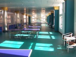 PVC Flooring Sports Pvc Flooring Plastic Flooring M