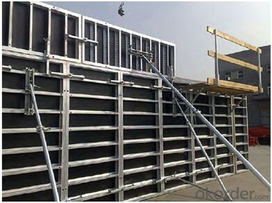 Steel Frame Formwork for Wall and Column and Beam Construction
