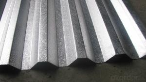 Extruded Aluminum Plate in Different Corrugation Profiles