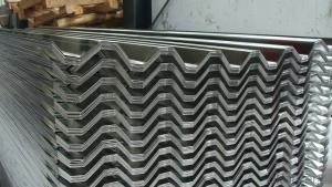 Corrugated Aluminum Tile in Different Corrugation Profiles
