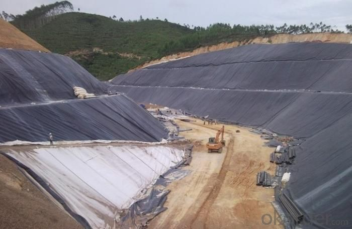 One Geoxtetile One Film,Composite Geomembrane