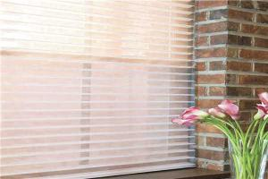 Panels Curtains With Flower Pattern Warp Knitting eyelet