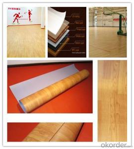 Homogeneous PVC Flooring Commercial Flooring
