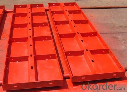 Light Duty Whole Steel Formwork for Construction