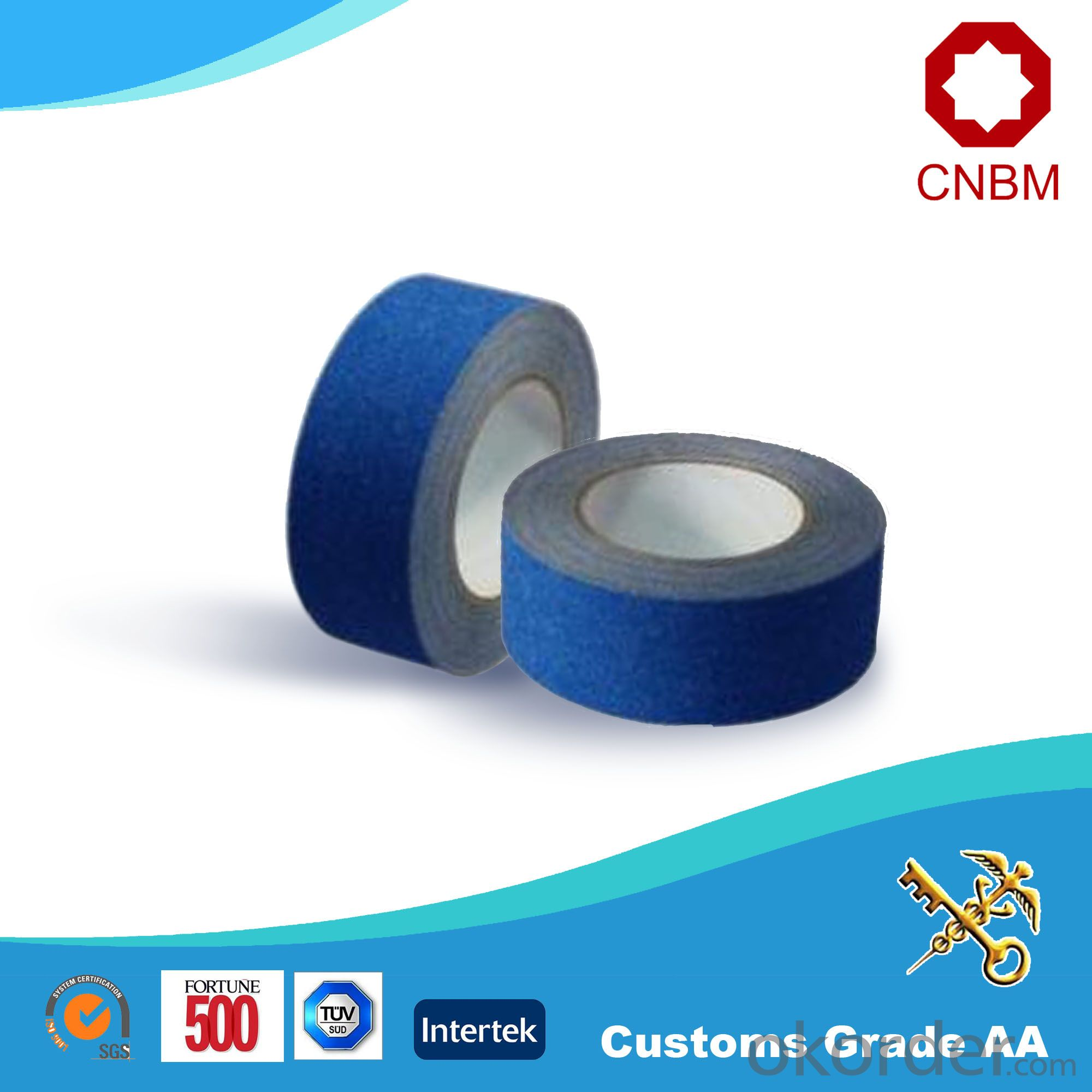 Opp Tape Film Blue Packaging SGS&ISO9001