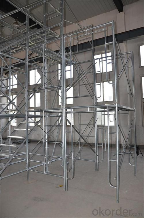 Door Frame Scaffolding with Hot Dip Galv