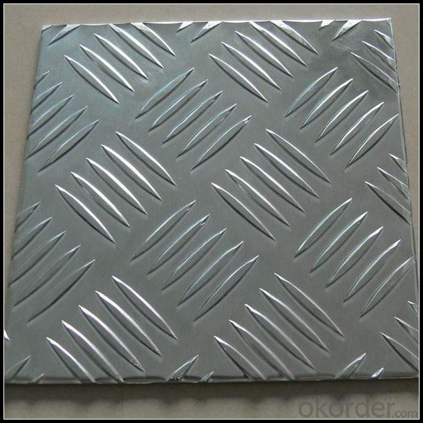 Five Bar Treadplate Aluminium Panel 3003 H22 for Tool Box