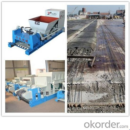 Machine for Concrete Floor Slab with Holes