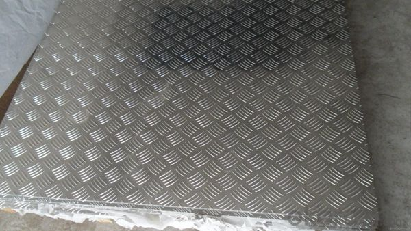 Five Bar Treadplate Aluminium Panel AA1XXX for Tool Box