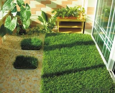 Synthetic Turf Artificial lawn Fake Grass With Factory