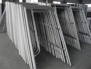 H Door Frame Scaffolding with Painting Color