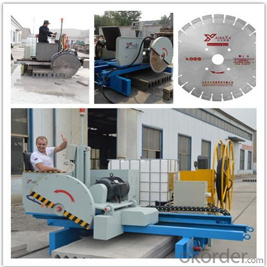 Automatic Precast Concrete Hollow Core Slabs Saw