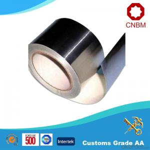 Aluminum Foil Tape Synthetic Rubber Based Silver Color