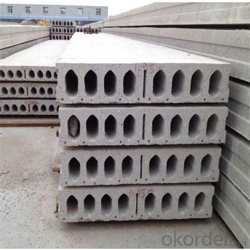 Prefab Concrete Hollow Core Slabs Making Machine