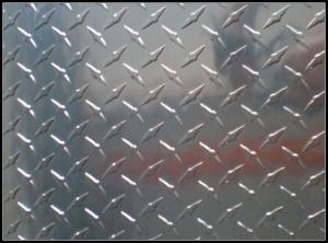 Bright Diamond Aluminium Chequer Plate for Boat Panel