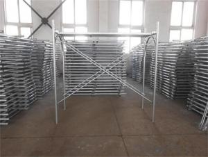 Door Frame Scaffolding by painting or Galvanized