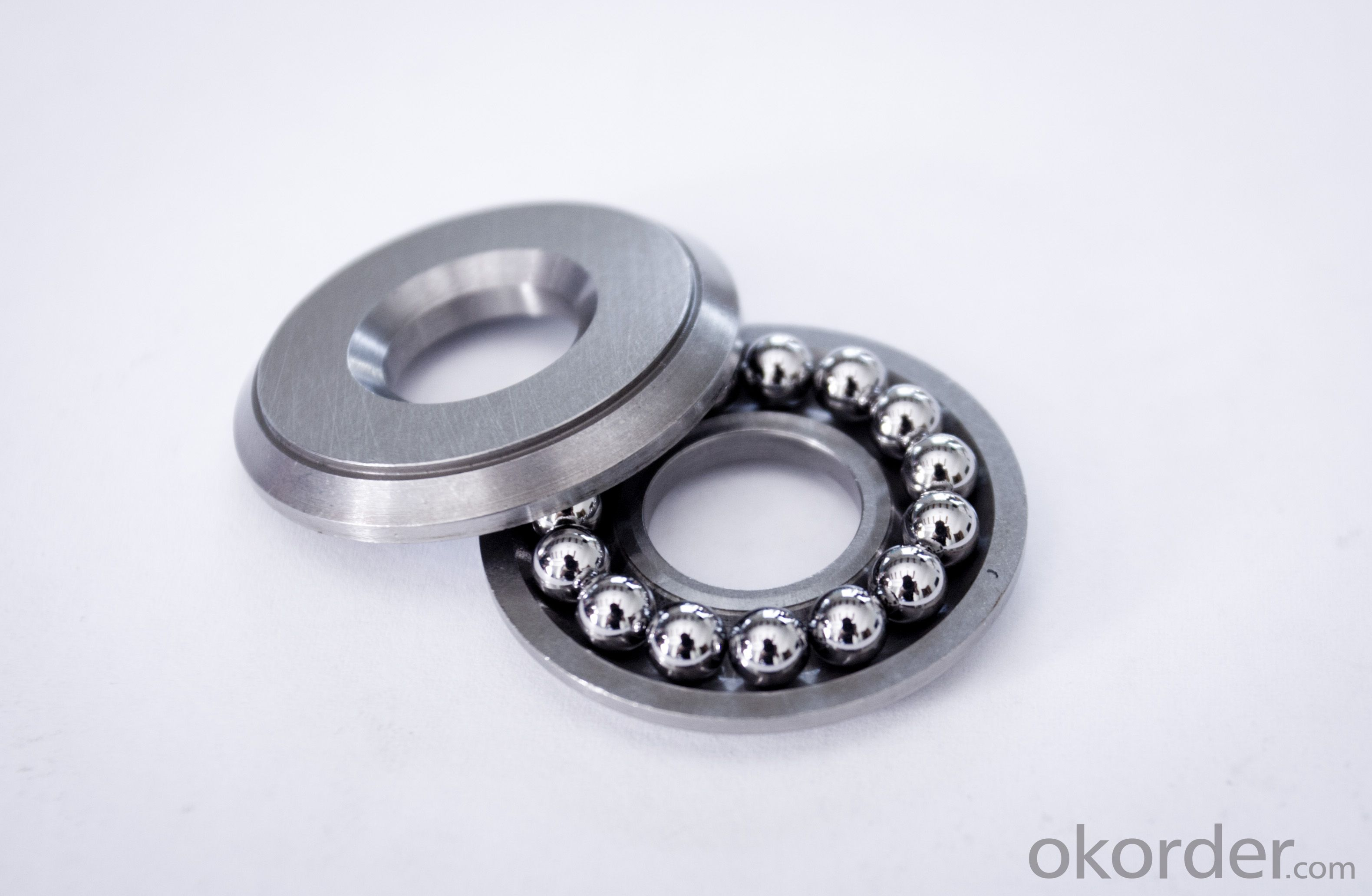 Plane thrust ball bearings for crane hook