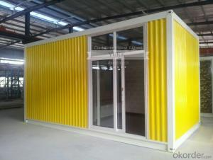 China Flat pack living modular container house