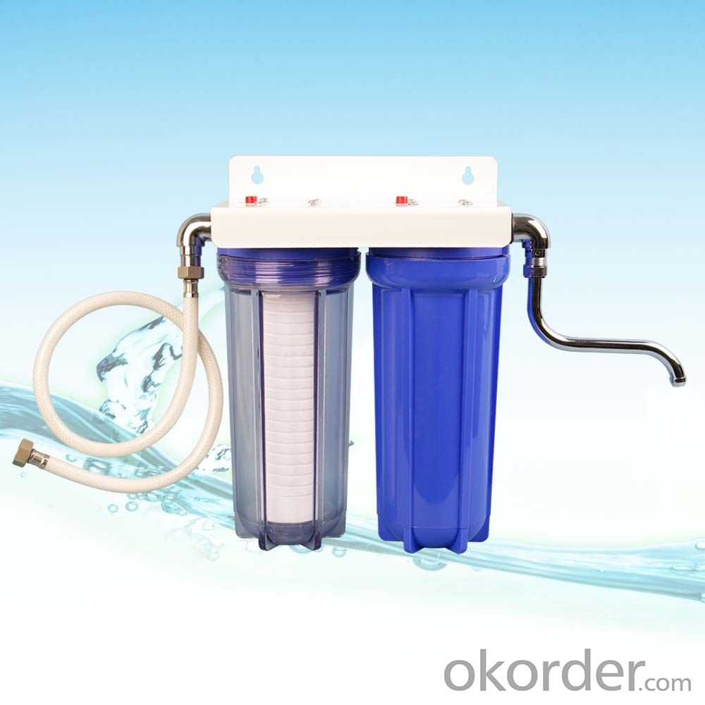 Postpositive dual-stage water purifier WF-10A2