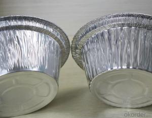 Aluminum Foil Container Lid 1235 for 65 mic 7mic 12mic