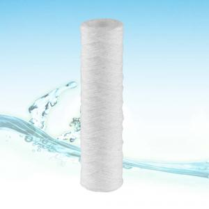 Wirewound filter cartridge polypropylene fiber yarn