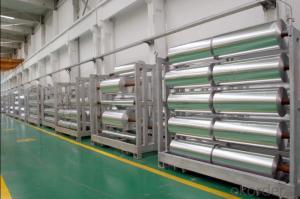 Standard Size 8011 Aluminum Foil 6 Micron