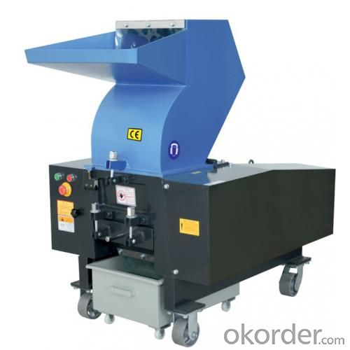 plastic grinding granulator machine for recycling plastic material