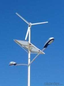 Wind-Solar Hybrid Street Lights