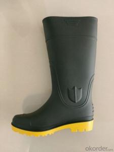 PVC Wellington Boot Gumboots Working Rain Boots for Construction Farming