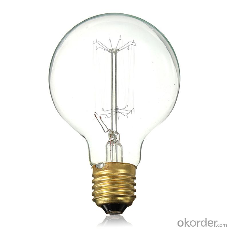 Dimmable Filament LED Bulb Vintage Edison UL COB