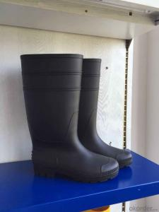 PVC Gumboots Light Duty Work Boots for Construction Farming