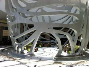 modern steel structure sculpture  projects