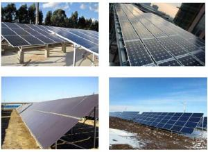 High Efficiency And High Power Solar Modules