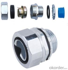 Male Straight Pipe Fitting(DPJ-1)  Zinc Die Casting, Rubber and iron