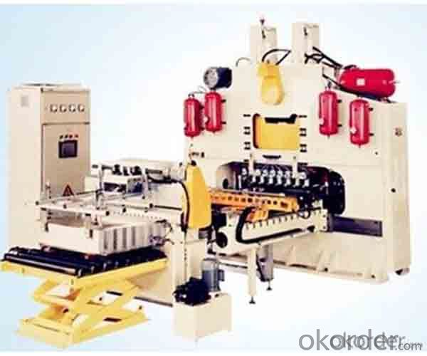 Automatic Easy Open End Making Machine EOE Production Line