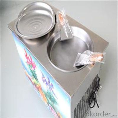 Durable Fry Ice Cream Machine with Good Quality