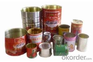 Automatic Food Milk Powder Tomato Paste Sauce Tin Can Making Machine