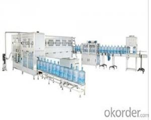 gallon filling production  line for bottles use