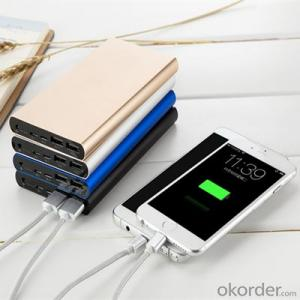 Power Bank Dual USB Output Input Li-Polymer Charger Battery 12000mAh For All Mobile