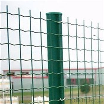 Outer Green PVC Coated Wire Mesh Garden Fence
