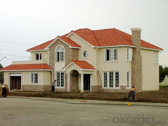 Villa Prefabricated House with Mordern Design