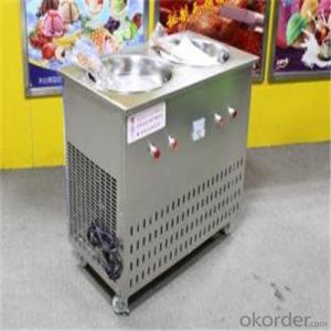 Durable Instant Pan Fried Ice Cream Machine, Fry Ice Cream Machine