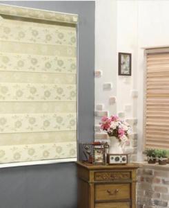 Blackout Zebra blind Transparent and blackout vertical blind fabric