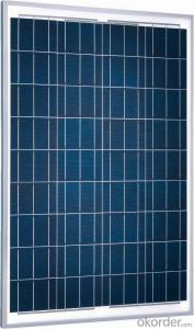 Silicon Polycrystalline Solar Panel 250Wp