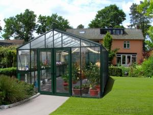Domestic Home Greenhouse by Polycarbonate Cellular Sheet