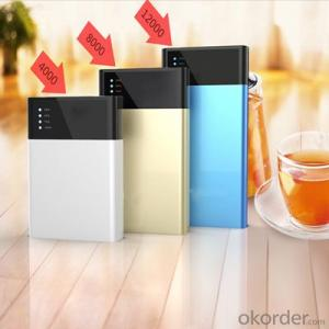 Customized logo portable 4000 8000 12000mAh Power Bank for digital devices fit for mobile phone