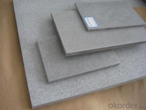 Good Good Quality White Color Fiber Cement Board