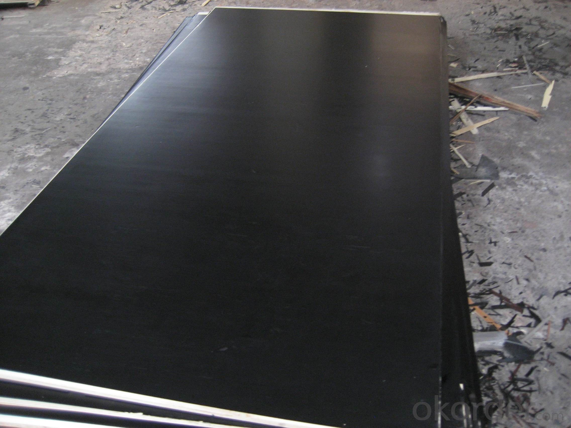 Brown Film and Black Film Faced  Plywood  for Concrete Forming