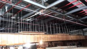two story  steel structure warehouse/ workshop/plant
