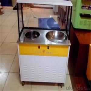 Rollled Ice Cream Machine/Fry Ice Cream Machine with Good Quality